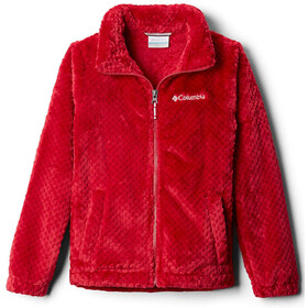 Columbia Fire Side Sherpa Full Zip Jacket Girls pomegranate